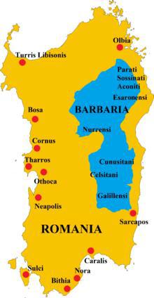 古代ローマ人も支配できなかったサルデーニャ島内陸部バルバーリア