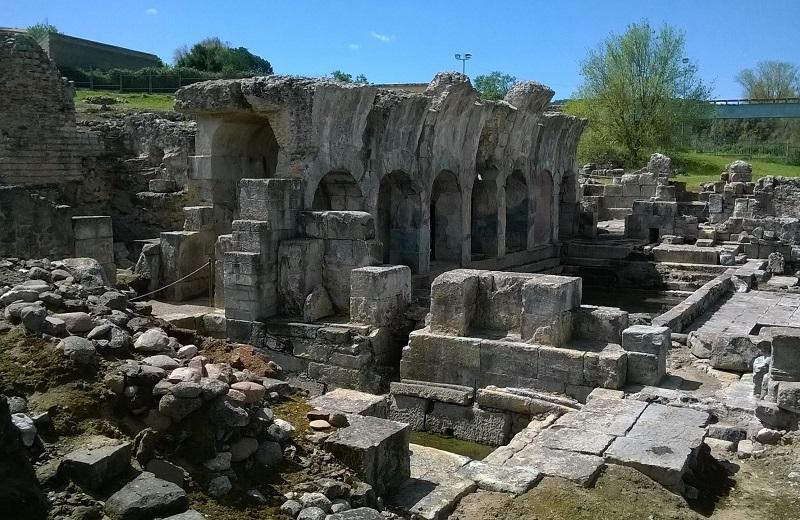 フォルドンジャーヌス古代ローマ温泉跡